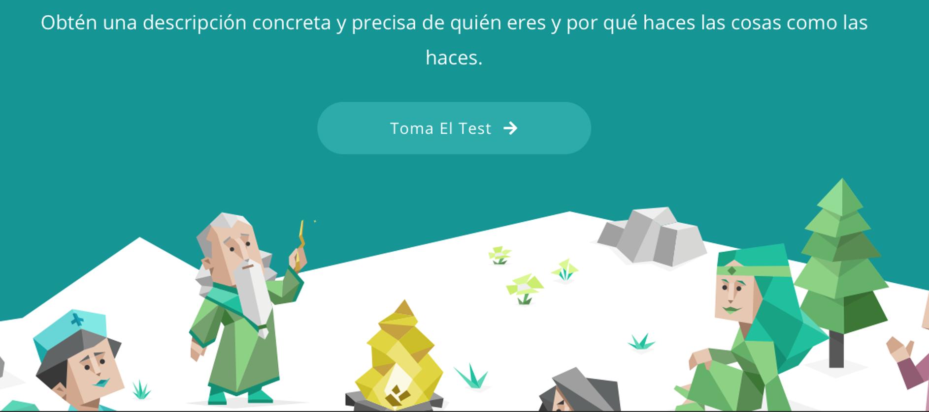 Link al test de personalidad
